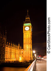 Big Ben and Westminster Bridge International Landmark of...