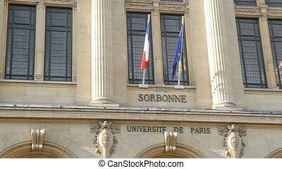 The Sorbonne. - The Sorbonne is an edifice of the Latin...