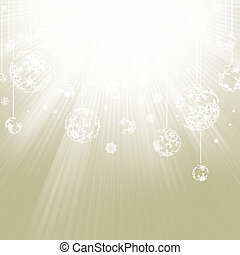 Gold Christmas Background EPS 8 vector file included