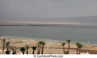 Dead sea landscape - Panorama of Dead sea landscape