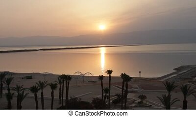 Sunrise at Dead Sea - Sunrise over Dead Sea