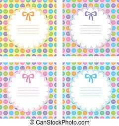set of baby frames