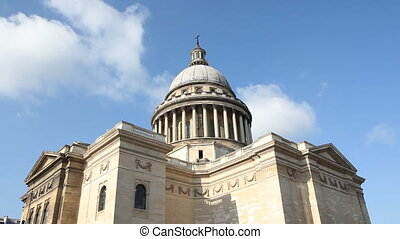 The Pantheon. - The Pantheon in the Latin Quarter of Paris,...