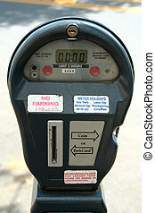 City parking meter - A City parking meter