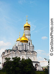 churches of the Moscow Kremlin in Moscow, Russia