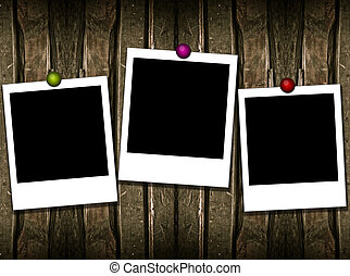 3 instant frames - art decoration