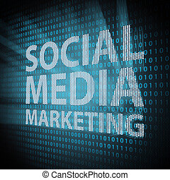 Social Media Marketing concept - Social Media Marketing sign...