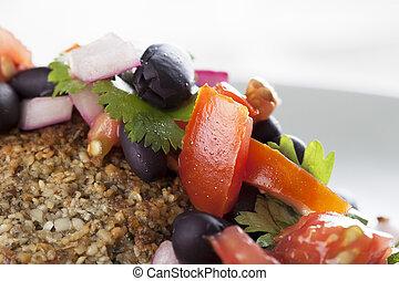 Black Bean Salsa Closeup