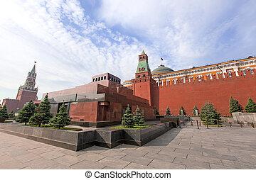 Lenin, mausoleo