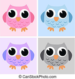 sweet little owls