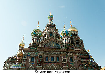 Church of the Spilled Blood, St Petersburg, Russia
