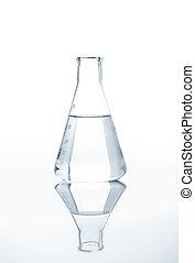 teste-tubo, água