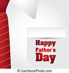happy fathers day text over business t shirt background...