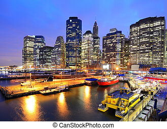 South Street Seaport - The historic district of South Street...