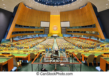 United Nations General Assembly - NEW YORK CITY - MAY 21:...
