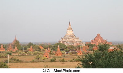 Panorama of Bagan - Bagan, Myanmar