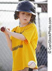 T - pelota, bateador