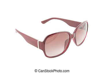 Sunglasses - Modern sunglasses on a white background