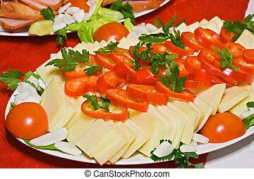 乳酪, 蔬菜
