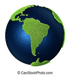 Grass Earth - South America