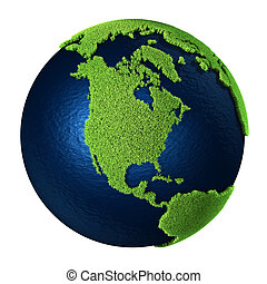 Grass Earth - North America