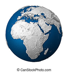 Artificial Earth - Africa