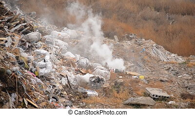 evaporation of waste to landfill