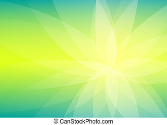Abstract Green and Yellow Background Wallpaper
