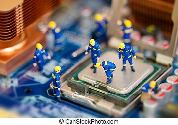 修理, 電腦