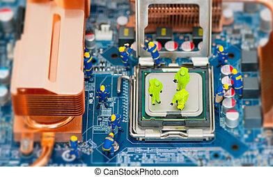 修理, 概念, 電腦