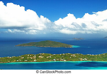 Overlooking Bay, St. Thomas USVI - Description: These...