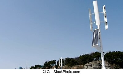 Wind solar turbine and energy. - Wind solar turbine and new...