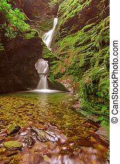 St Nectan's Glen, Tintagel, Cornwall. - One of Cornwall?s...