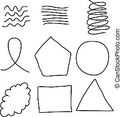 Scribble Shapes