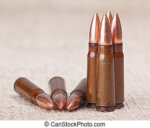 cartridge - scored seven cartridge for AK-47