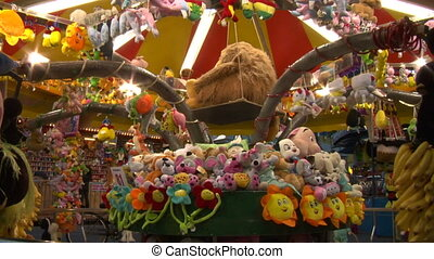 amusement park 01 - Fairground attractions at amusement park
