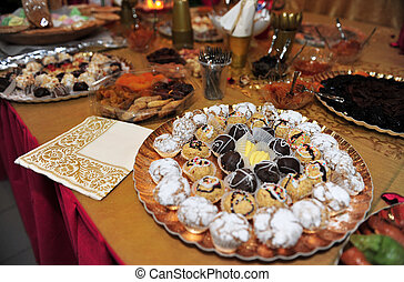 Mimouna Celebrations in Israel - Celebrating the traditional...