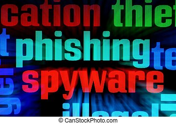 Phishing spyware