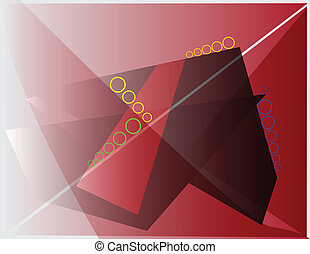 Burgundy abstract background