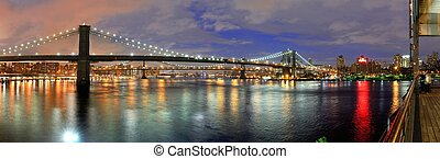 New York City Bridges - Bridges spanning the East River...