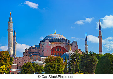 Hagia Sophia in Istanbul Turkey - architecture religion...