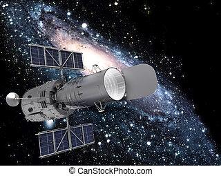 Satelita, galaktyka