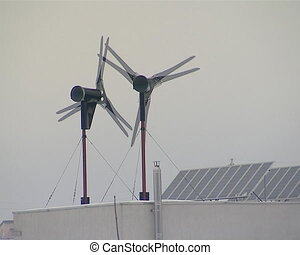 wind energy generate roof