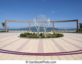 Central square in Nha Trang - Central square in Nha Trang,...