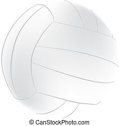 Volleyball - An image of a volleyball