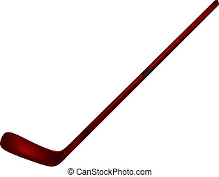 Hockey Stick - An image of a hockey stick