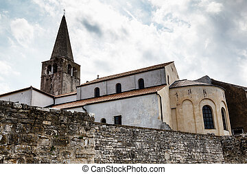 Euphrasius Church in Porec, Croatia