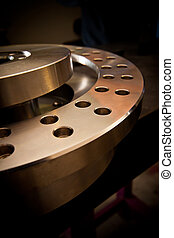 Machi - Custom-milled machine part made with CNC machine.