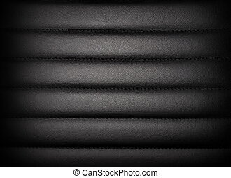 Dark leather padded leather or vinyl upholstery texture,...