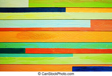 Colorful wood texture